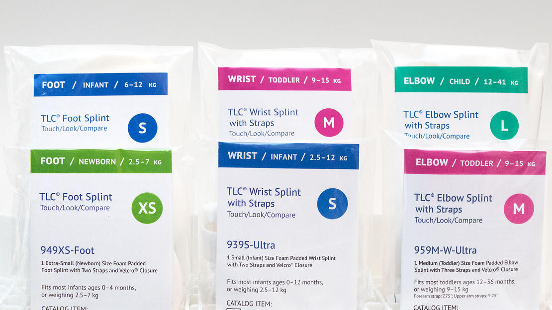 Redesigned TLC Splint Packaging Inserts